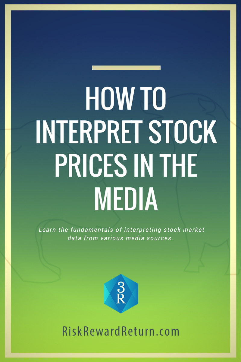How to Read and Interpret Stock Prices in the Media
